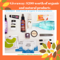 Enter for a chance to win $200 worth of organic and natural products. Ends 9.30 - The Organic Deals Center