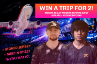 Win a Trip for 2 to a Any Premier Esports Event - Rivalry