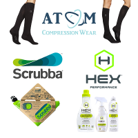 Atom Milk Fiber Compression Socks and High Quality Fabric Laundry Care Giveaway - Atom Compression Wear