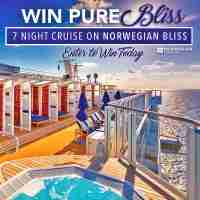 Win this FREE 7 Night Cruise for Two on the Norwegian Bliss!🛳 - Norwegian Bliss
