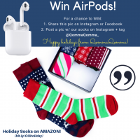 Win Apple AirPods - QommaQomma