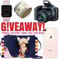 Apple iPhone 8 or Kate Bag & Apple Watch or $700 Cash Giveaway - It's Our Fab Fash Life
