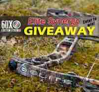 Win an Elite Synergy Compound Bow $1000 Value - 60X Custom Bow Strings