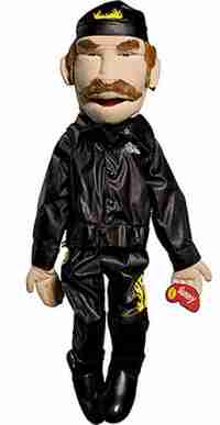 Full Body Biker Puppet Giveaway - Crazy Zany Puppets