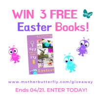 Here comes Easter! Win Free Books! valued over $44 - MotherButterfly Books