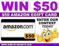 $50 Amazon Gift Card Giveaway - Jewelry Secrets
