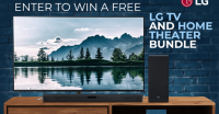 buydig is giveaway a LG tv and home theater system - buydig.com