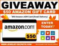 Win a $50 Amazon Gift Card - Jewelry Secrets