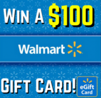 Enter To Win A $100 Walmart Gift Card! No Purchase Required! - Arrest Your Debt