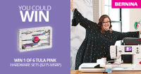 The BERNINA Canada Tula Pink Special Edition Contest - BERNINA of Canada