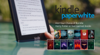 Kindle Paperwhite with Your Choice of Harry Potter OR Neil Gaiman Bundle - arcurtis.com
