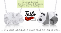 Win One Limited-edition Sterling Silver Double Sided Necklace from Tails by Silverissimo - SilverissimoCollection.com