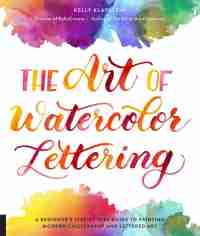 The Art of Watercolor Lettering USA CAN 4/5 - Handmade by Deb Blog