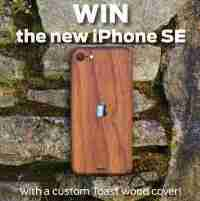 Win new Apple iPhone SE with custom cover - TOAST