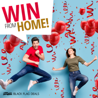 Win From Home Sweepstakes - Black Flag Deals