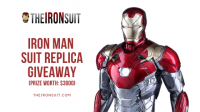 Win $3000 Iron Man Mark XLVII Suit Armor Replica - TheIronSuit