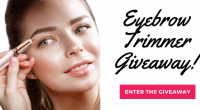 Eyebrow Trimmer Giveaway - Angels Worth