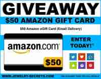 $50 Amazon Gift Card Contest - Jewelry Secrets