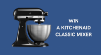 WIN a KitchenAid Classic Mixer - unearthed USA
