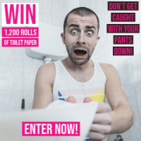 Toilet Paper Giveaway! Over 1500 Rolls Given Away Last Month! - toiletpapergiveaway