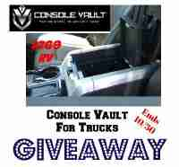 Console Vault For Trucks Giveaway - Console Vault