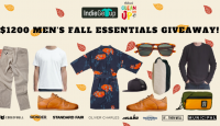 $1200 Mens Fall Essentials Giveaway - indiegetup