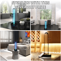 UV Room Sterilizer Light Giveaway - Discount Filters