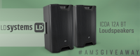 Win A SET OF LD SYSTEMS ICOA 12A BT POWERED LOUDSPEAKERS - American Music Supply