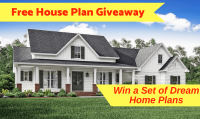 Free House Plan Giveaway - Win a Set of Dream Home Plans - The Plan Collection