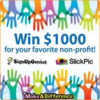 SignUpGenius #MakeADifference Photo Contest Sponsored by SlickPic