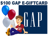 $100 GAP Gift Card Giveaway!