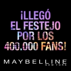 Promo Maybelline 400.000 fans - www.maybellineargentina.com.ar