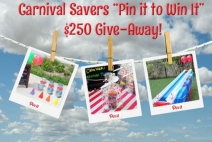 Carnival Savers - Pin it to Win it Giveaway - www.CarnivalSavers.com