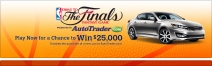 Win $25000 towards the purchase of a new car on AutoTrader.com - www.nba.com