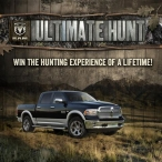 Win a Ram Trucks - Ultimate Hunt - www.ramtrucks.com