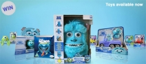 Win A Monsters University Goody Bag containing a Spin Master Sulley Monster Mask! - www.disney.co.uk