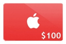 $100 Apple Gift Card Giveaway - www.famousfreesamples.com