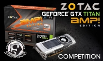 Win A ZOTAC NVIDIA GTX Titan AMP! Edition Overclocked Graphics Card with ZOTAC and HardwareHeaven - www.hardwareheaven.com