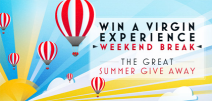 Win a Glamping Experience - www.virgintrains.co.uk