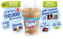 Win one of 10 $10000 MasterCard Prepaid card.  - www.chilltowin.com
