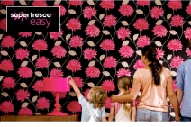 Wallpapering just got easy! - www.goodhomes.net