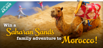 Win holiday in Marocco - giraffe.net