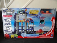 TOMY Chuggington Die-Cast Wilson and the Wild Wind Storm Maker Competition - www.angelathisislife.com