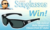 Win your choice of Bollé sunnies from Just Sunglasses - www.companzee.co.uk