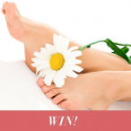Win a foot treatment in London from Happy Health Clinics - www.celebrityangels.co.uk