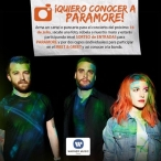CONCURSO PARAMORE - www.warnermusic.cl