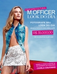 M.Officer Concurso Cultural Look do Dia - www.mofficer.com.br