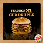 Promoción Burger King - Tu Foto Stacker XL - www.burgerking.com.ar
