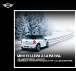MINI Chile Mini te lleva a la Parva - www.mini.cl