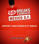 Kit Kat Breaks a Domicilio - www.kitkat.com.mx